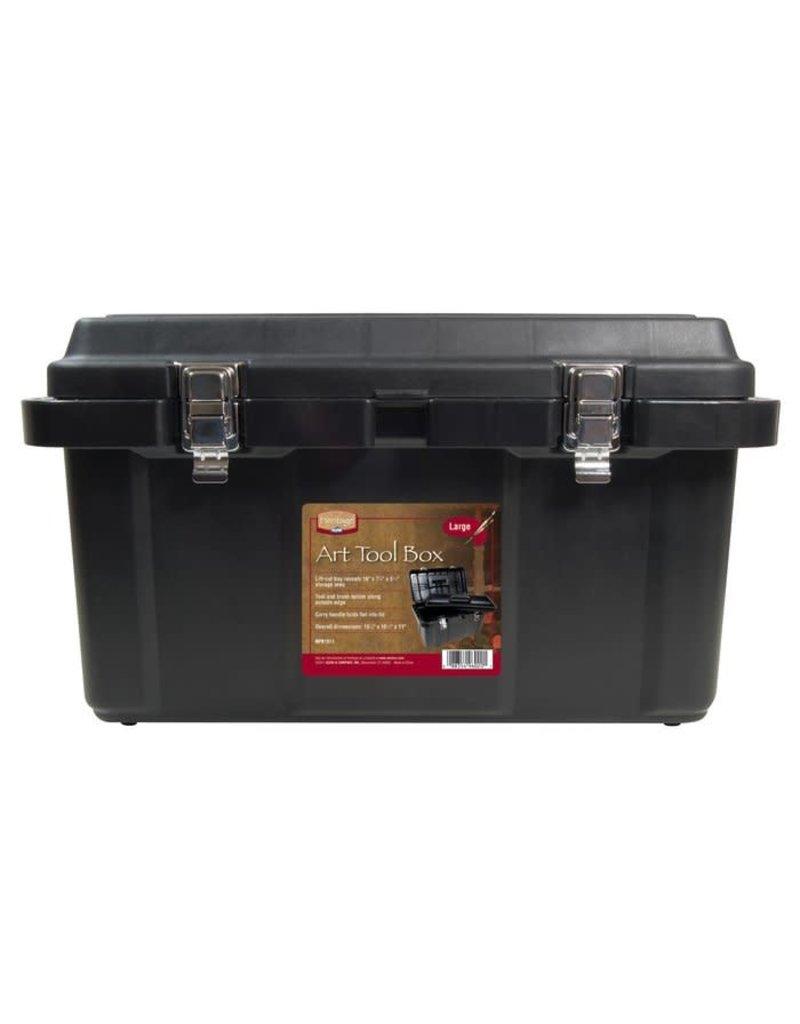 Heritage Arts X Large Art Tool Box Black