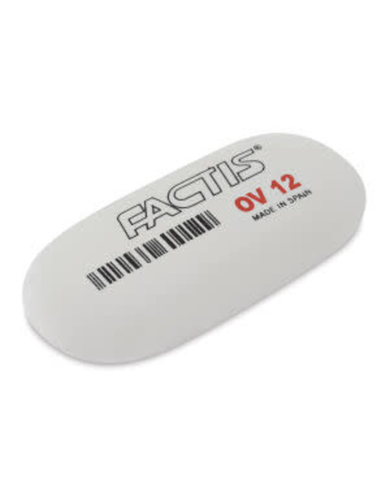 General Pencil Factis Soft Oval Soap Eraser Small