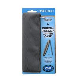 Itoya Profolio Journal Sidekick Zipper Cases, Gray