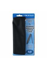 Itoya Profolio Journal Sidekick Zipper Cases, Black
