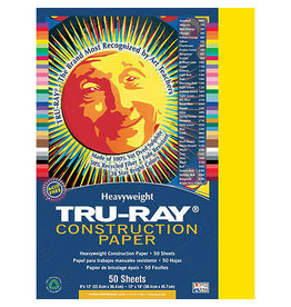 """Pacon Tru-Ray Construction Paper, 9"""" x 12"""", Assorted Colors"""