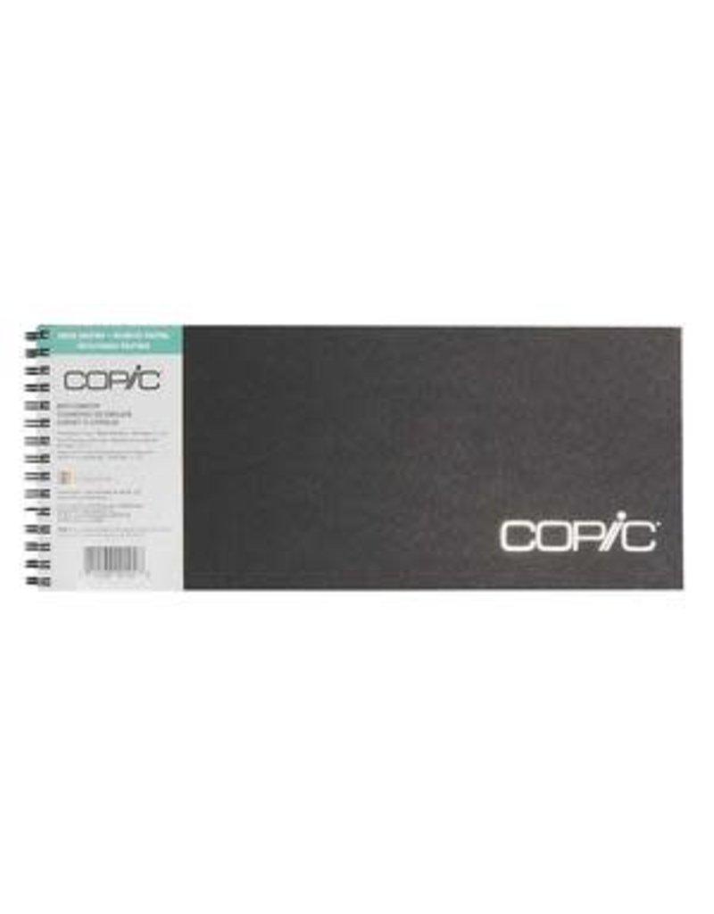 Copic Copic Sketchbooks, 5'' x 12'' - 50 Shts./Bk. Wire Bound
