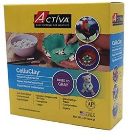 Activa Celluclay Gray Pak 1Lbs