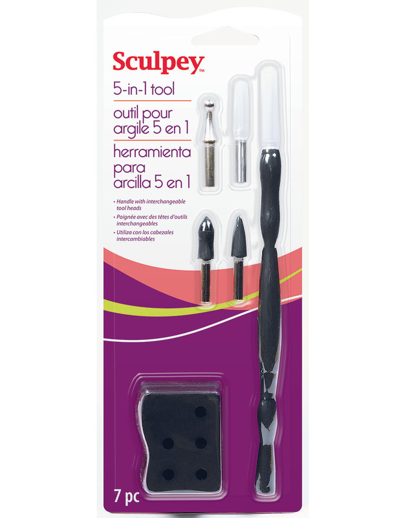 Sculpey 5 N 1 Clay Tools