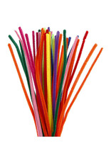 Creativety Street Chenille Stems, Regular, Assorted Colors 100/Pkg