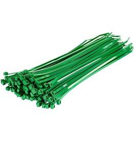"""none Zip Ties 10"""" - Green - 3 oz (approx 50 ties)"""