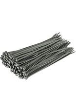 """none Zip Ties 10"""" - Grey - 3 oz (approx 50 ties)"""