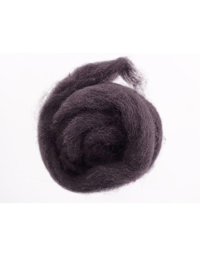 Kraemer Yarns Wool Roving Black