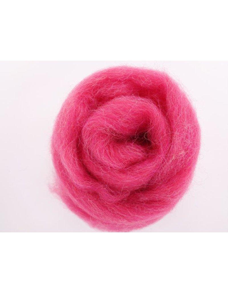 Kraemer Yarns Wool Roving Rhubarb