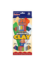 Sculpey EZ Shape Modeling Clay 20-Color Sampler, Non Drying