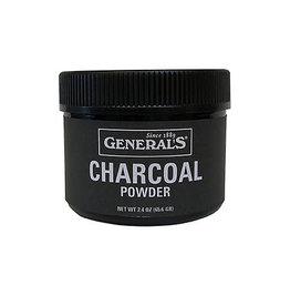 General Pencil Charcoal Powder, 2.4 oz.