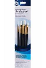Princeton Real Value Brush Sets, 4-Brush Sets, 9130