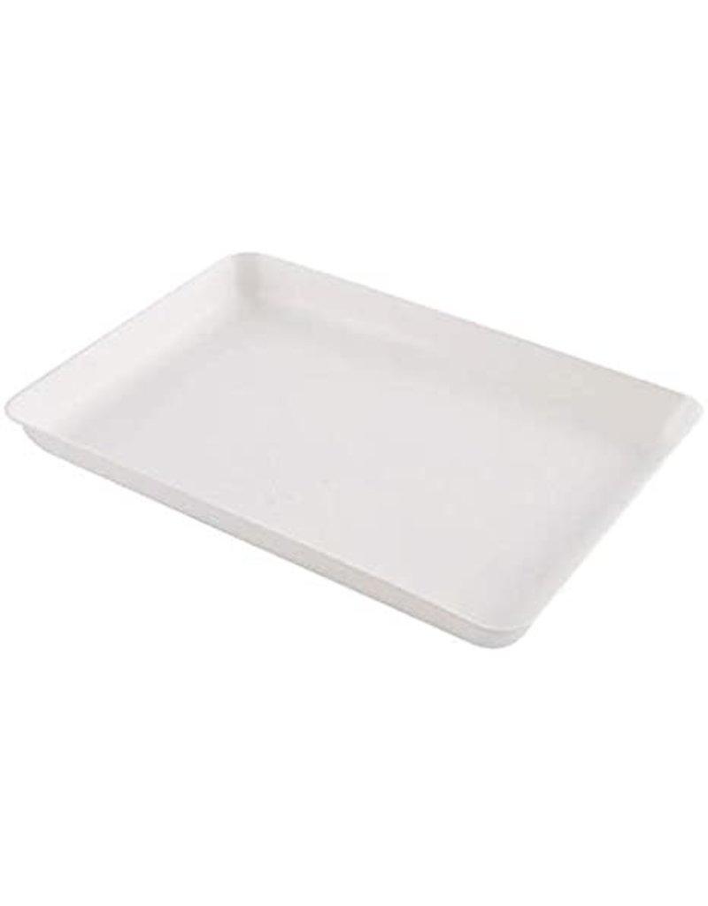 Heritage Arts Easy-Peel Plastic Tray Small White