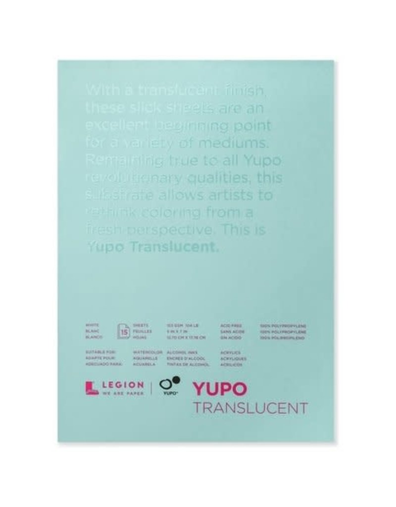 Yupo Yupo Translucent Pads 5X7 153Gsm Smooth