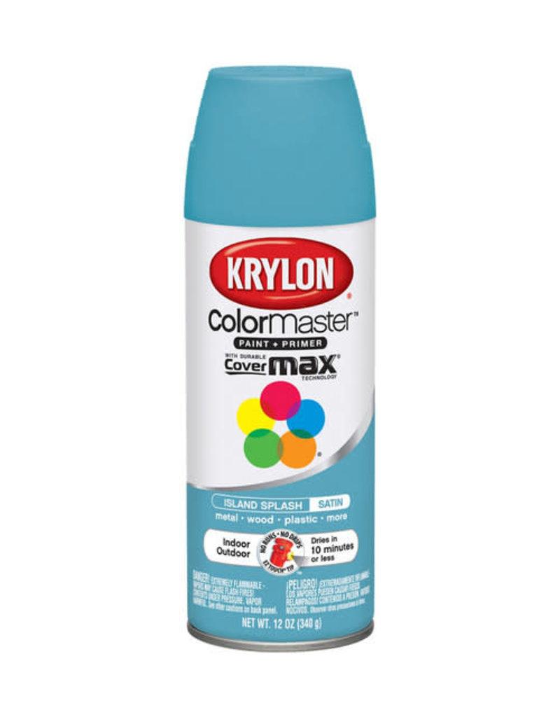 Krylon Krylon Colormaster Satin Island Splash