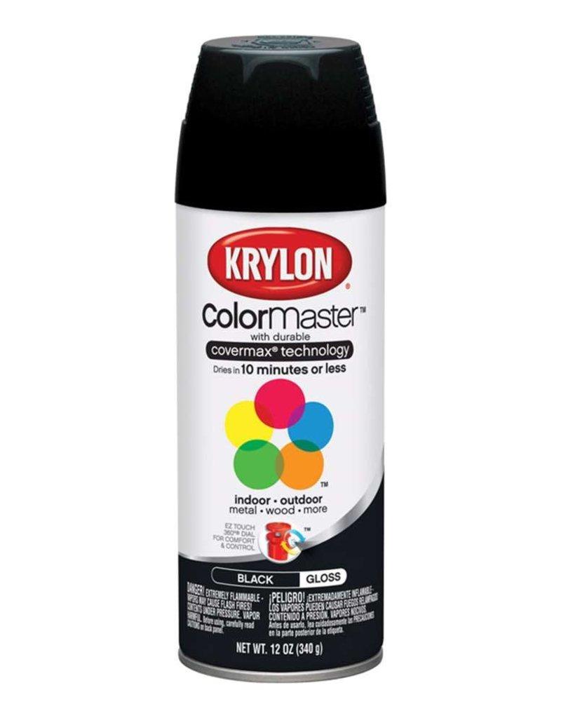 Krylon Krylon Colormaster Gloss Black