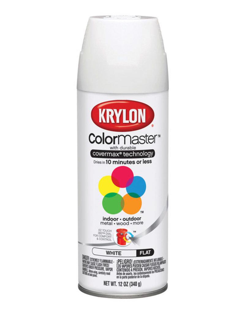 Krylon Krylon Colormaster Flat White