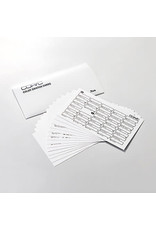 Copic COPIC Color Swatch Cards