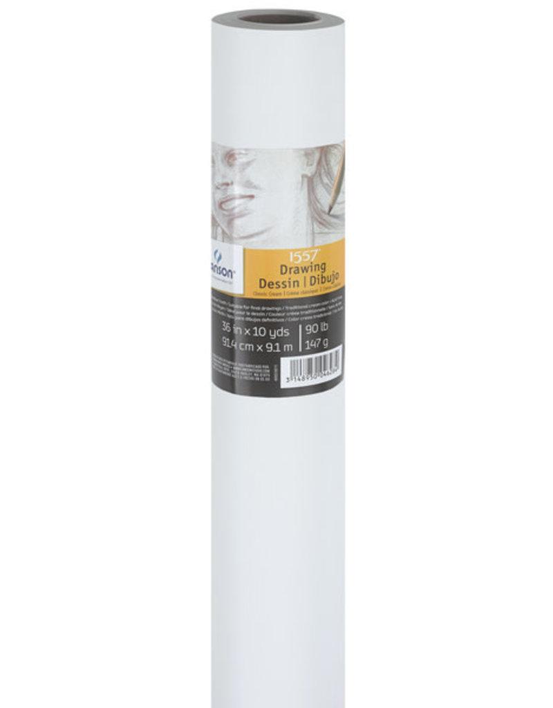 Canson Roll: Classic Cream 36Inx10Yd