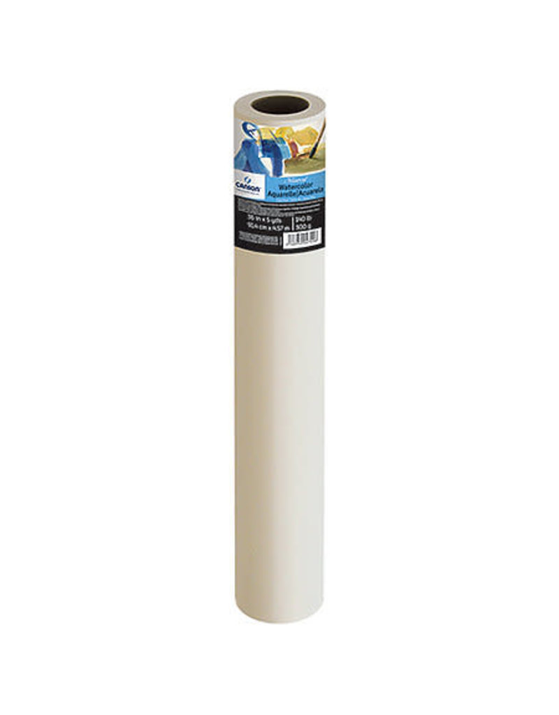 """Canson Roll: Canson Watercolor Paper Montval  36""""x5YD"""