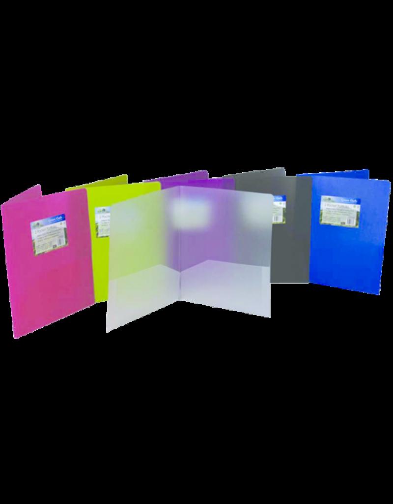 Filexec Green Oath Biodegradable 2-Pocket Poly Portfolio