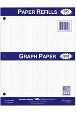 Roaring Springs Graph Filler Paper 4X4 - White 8.5X11In