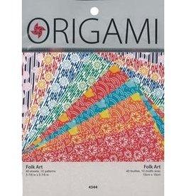 Yasutomo Origami Folk Art 5-7/8In 40Sh