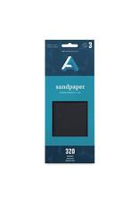Art Alternatives Sandpaper Fine 320 Grit 3/Pk