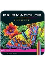 Sanford Prismacolor Premier Thick Core Colored Pencil Sets, 48-Color Set