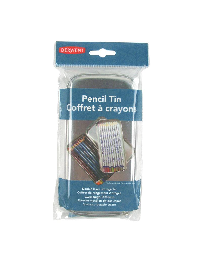 Derwent Pencil Tin W/Inner Tray