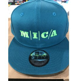 9Fifty * CLEARANCE* MICA Cap Teal/Green Snapback