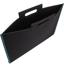 Itoya Profolio Midtown Bags, 23 X 31 Black/Blue