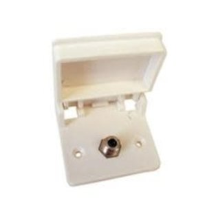 Prime Products Single Coax Cable Cover CW