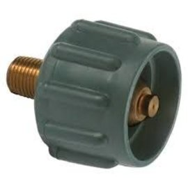 """Meeder Green RV Acme Fitting x 1/4"""" MPT"""