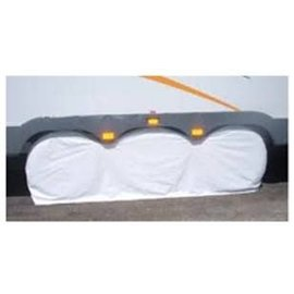 "Adco Triple Axle Tire Covers Fits 30 to 32"" Tires Polar White"