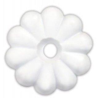 JR Products White Rossettes 14pk
