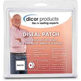 Dicor Dicor Roof Patch 6 x 6 White