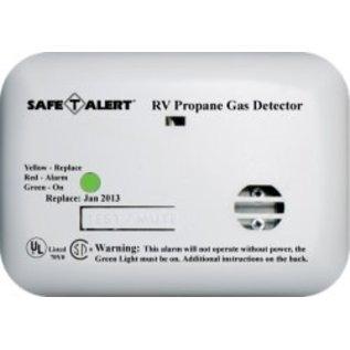 Safety Alert Mini Wired LP Alarm White Surface Mount