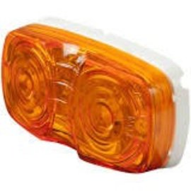 Custer Products Amber LED Clearance Light