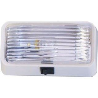 Bargman Bargman Porch Lite Clear Lens w/ Switch