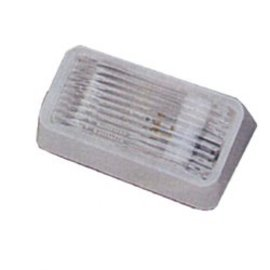 Bargman Bargman Porch Lite Clear Lens W/O Switch