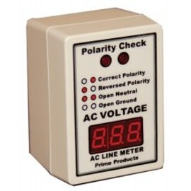 Prime Products Digital Line Meter/Polarity Tester