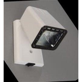 Progressive Dynamics Wood Grain Bullet Light - White Pictured