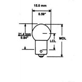 Camco 57 Bulbs 2 Per Cd