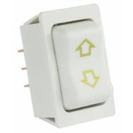 JR Products White Slide Out Switch