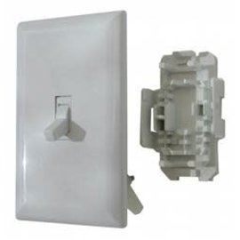 Diamond Group White Light Switch W/ Plate
