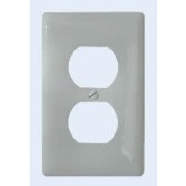 Diamond Group White Receptacle Cover