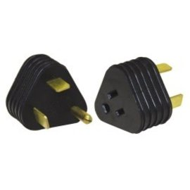 Valterra 30M to 15F Amp Temporary Adapter