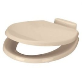Sealand Toilet Seat & Lid Bone Enamled Wood