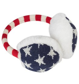 Old Glory Knit Earmuffs